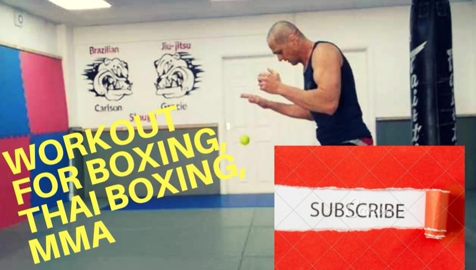 MMA, Muay Thai, Boxing workout what easy to do at home!